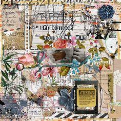Unspoken Words, Shadow Box, Digital Scrapbooking, No Response, Make It Yourself, Creative, Sweet, Painting, Summer