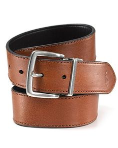 Polo Ralph Lauren Reversible Belt with Heavy Stitch   Bloomingdale's