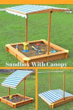 How To Build A Covered Sandbox Honey Do Sandbox Kids