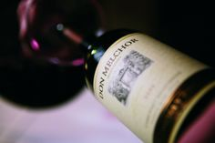 Don Melchor, Chile's first ultra-premium Cabernet Sauvignon Ultra Premium, Cabernet Sauvignon, Wine Recipes, Red Wine, Chile, Alcoholic Drinks, Bottle, Glass, Food