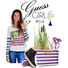 """Be Flirtatious with GUESS Girl Belle"" by doralicia on Polyvore"