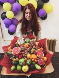 В садик Fruit Flower Basket, Fruit Flowers, Fruit And Veg, Fruits And Vegetables, Vegetable Bouquet, Best Fruits, Botany, Decoration, Floral Arrangements