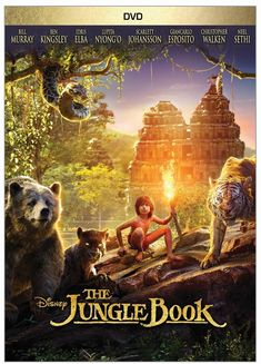 The Jungle Book.  Available to Check Out: 8/29/16. Based on the book by Rudyard Kipling. An epic adventure about Mowgli, a man-cub who's been raised by a family of wolves. Mowgli finds he is no longer welcome in the jungle when fearsome tiger Shere Khan, who bears the scars of Man, promises to eliminate what he sees as a threat.(Junior Ficiton- PG) 11/5/16