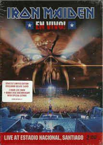 Iron Maiden - En Vivo! (Live At Estadio Nacional, Santiago): comprar 2xDVD, PAL, Ltd, Ste en Discogs