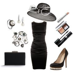 Black  White, Classy Summer, created by amanda-allen-molina on Polyvore my-style