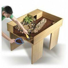 Bac à tortue en bois Vivexotic pour Tortues de Terre (à commander sans pattes de table)