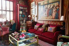 RED, magnifique...www.decorecomgigi.com