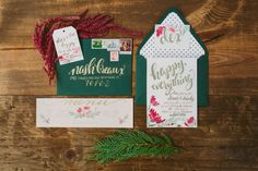 Proper Prints | Invitation Suite | Happy Holiday Party