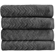 Christy Chevron Towel - Graphite - Bath Sheet (140 BRL) ❤ liked on Polyvore featuring home, bed & bath, bath, bath towels, grey, patterned bath towels, gray bath towels, grey bath towels and christy bath towels