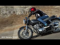 2015 Yamaha SR400 - Classic Bike Shootout Part 3 - MotoUSA  Rather than mess with success Yamaha revives one of its greatest classics with the return of the kickstart-only SR400. Read how it did in our comparison test: ...  Motorcycle Parts>>> http://amzn.to/2jsweFR  https://www.youtube.com/watch?v=nQoqY5QGbBg