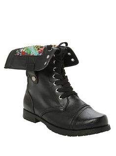 Marvel Comic Combat Boot | Hot Topic