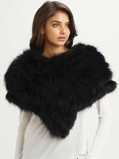 Gucci - Fox Fur Othis Capelet - Saks.com