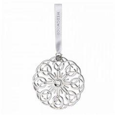 Peter's Of Kensington | Wedgwood - Christmas 2015 Filigree Snowflake Ornament