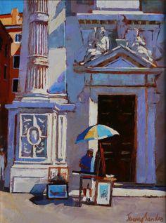 Jeremy Sanders. Artist. Oils