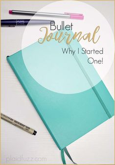 I just started a bullet journal, and I am already obsessed! Today I am showing you my initial set up, and why you might want to start a bullet journal, too!