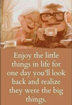 Enjoy the little things x