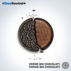 Have you experienced the double chocolaty Oreo yet? #OreoRewind #ChocolatyConfusion