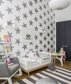 Interior Design and wallpaper by SISSY + MARLEY. Photo by Marco Ricca