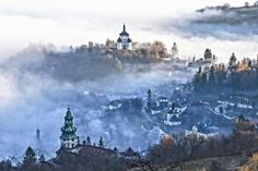 Banska Stiavnica Heart Of Europe, Central Europe, Bratislava, Capital City, Czech Republic, Hungary, Poland, Journey, Clouds
