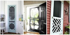 Because it's not a country house without a screen door.