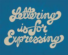 Lettering is for Expressing | Flickr – Compartilhamento de fotos!