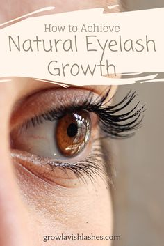 NATURAL EYELASH GROWTH. Check out our favorite natural eyelash growth serum and the full review! So you can grow eyelash longer and fuller fast!!