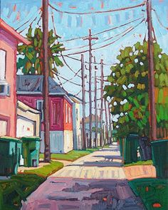 """""""Mid Day Sun,"""" by René Wiley by Rene' Wiley Gallery Oil ~ 20 x 16"""