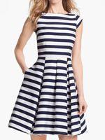 kate spade new york mariella cotton blend fit & flare dress
