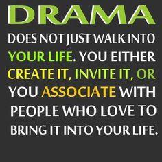 Good riddance to drama!