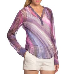 Amandine Blouse Nightfall, $92, now featured on Fab.