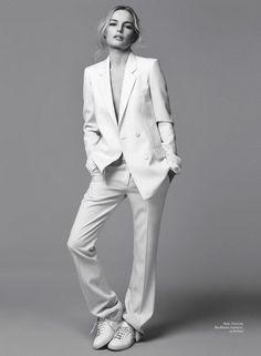 #suit #womensuit Victoria Beckham suit