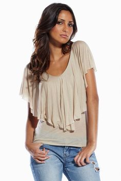 8fa2ee4616984 Take a look at this Elan Coffee Modal Top by Winter Wardrobe  Women s  Apparel on today!