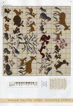 Variety of animal minis