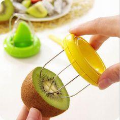 2016 new hole product Mini Fruit Cutter Peeler Slicer Kitchen Gadgets Tools For Pitaya Green Kiwi New #Affiliate
