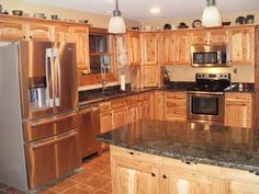 assembled+hickory+kitchen+cabinets   Hickory Cabinets