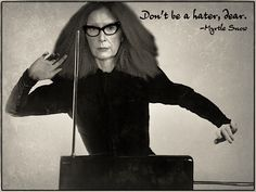 "Myrtle Snow at the Theremin - ""Don't be a hater, dear."" - 01/12/2014"