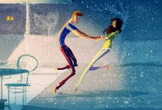 Pascal Campion's Have you ever run barefoot in fresh snow?