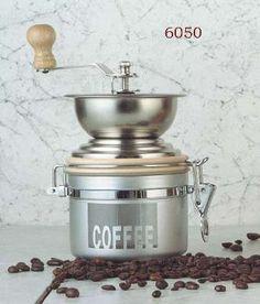 Modern grinder https://www.facebook.com/pages/Coffee-Society/651773478236556