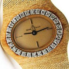 Vintage Baume & Mercier Watch