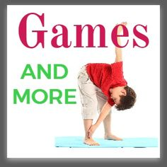 Four different ideas for calming yoga poses. Breathe in and out and relax! Simple poses for kids yoga.