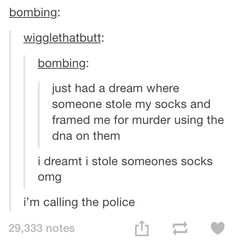 Sock dreams