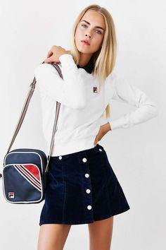 FILA Massimo Raglan Sweatshirt - Urban Outfitters