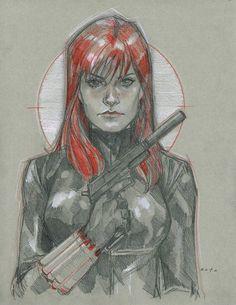 Black Widow by Phil Noto *