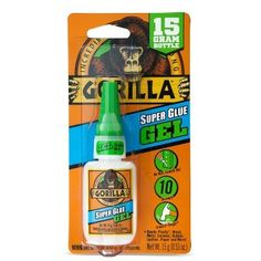 Professional Sale Gorilla White Glue White, pack Of 8 Waterproof 2 Ounce Bottle