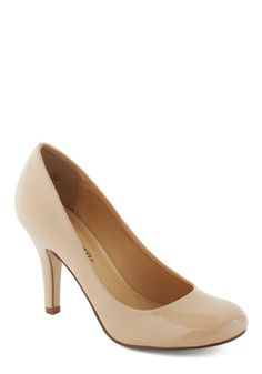 it's always good to have a nude colored heel... it goes with black and brown plus every color in between