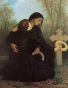 The Day of the Dead,1859 by William Adolphe Bouguereau