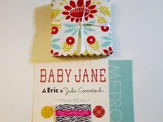 """ONLY $2.50! ENDS IN 12.5 HOURS! BABY JANE * Moda * Mini Charm Pack * 42 sq * 2.5"""" x 2.5"""" * Cotton * Fabric"""