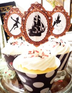 Printable Peter Pan Cupcake Toppers and Wrappers by OpalandMae