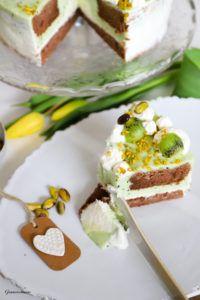 Kiwi, Gelatine, Kakao, Feta, Dairy, Cheese, Desserts, White Chocolate, Cakes