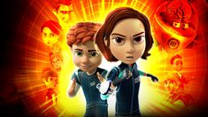 Samannimisiin elokuviin perustuvassa animaatiosarjassa Juni ja Carmen Cortez taistelevat pahaa SIENI-järjestöä vastaan ilman supervakoojavanhempiaan.